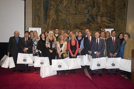 Ganadores de la Convención 2010 con destino a Grecia