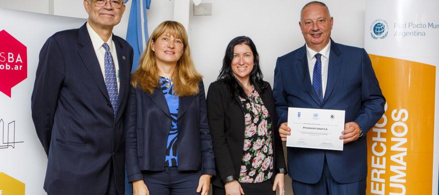 Prevención Salud firmó los Principios para el Empoderamiento de las Mujeres