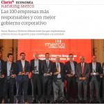 RANKING MERCO 2018 GOBIERNO CORPORATIVO Y RESPONSABLE