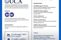 2 Y 9 DE MAYO,  DERECHO DE SEGUROS, UCA/AIDA –ROSARIO