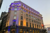 Allianz pone en valor patrimonio de la Ciudad al restaurar la fachada de su Casa Central