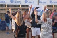 Orbis Seguros festejó con un After Beach en Pinamar.