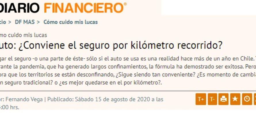 Auto: ¿Conviene el seguro por kilómetro recorrido? Diario Financiero – Chile