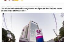 """""""La virtud del mercado asegurador en épocas de crisis es tener una enorme atomización""""  ON24 ROSARIO."""