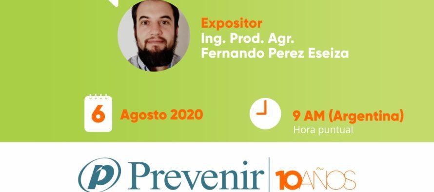 PREVENCIÓN DE COVID-19 EN LA ACTIVIDAD AGROPECUARIA  – WEBINAR 6-8 9 HORAS