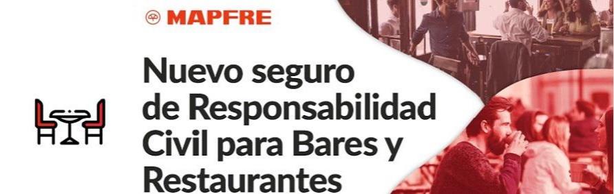 NUEVO PRODUCTO DE MAPFRE. La compañía lanzó RC para bares y restaurantes