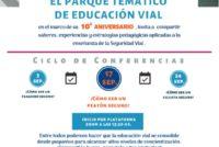 INVITACIÓN Ciclo de Conferencias EDUCACIÓN VIAL – Parque Temático de Educación Vial. 17-9 Y 24-9