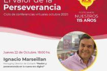 Ignacio Marseillan, Managing Director de Globant, hablará sobre pasión y perseverancia en la nueva era digital en el marco de un ciclo de conferencias virtuales