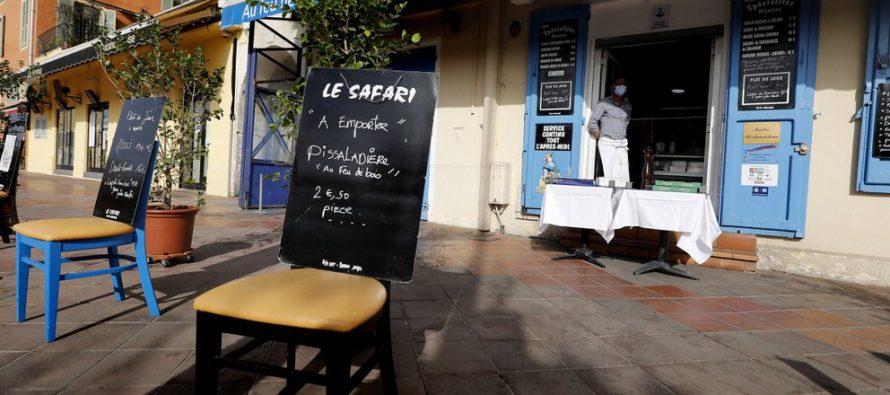 AXA paga 300 millones de euros a los restaurantes franceses por los cierres por covid