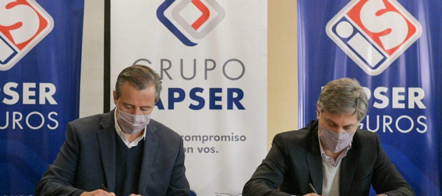 La Municipalidad de Paraná firmó un nuevo convenio con Iapser Seguros