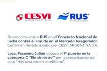 Río Uruguay Seguros obtuvo un importante reconocimiento en un concurso nacional