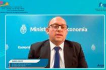 El secretario de Finanzas destacó el rol de las aseguradoras en el mercado de capitales