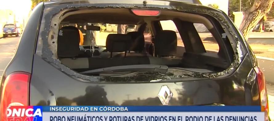 Aseguradoras señalan que «va en aumento» la rotura de vidrios y el robo de ruedas