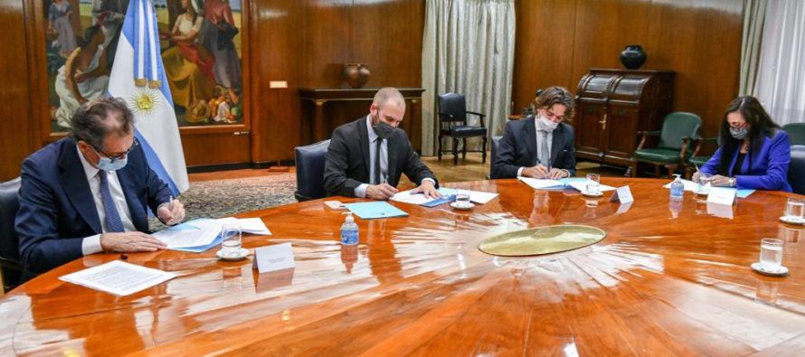 Economía, BCRA, CNV y la SSN firmaron acuerdo para impulsar el desarrollo de las finanzas sostenibles en la Argentina