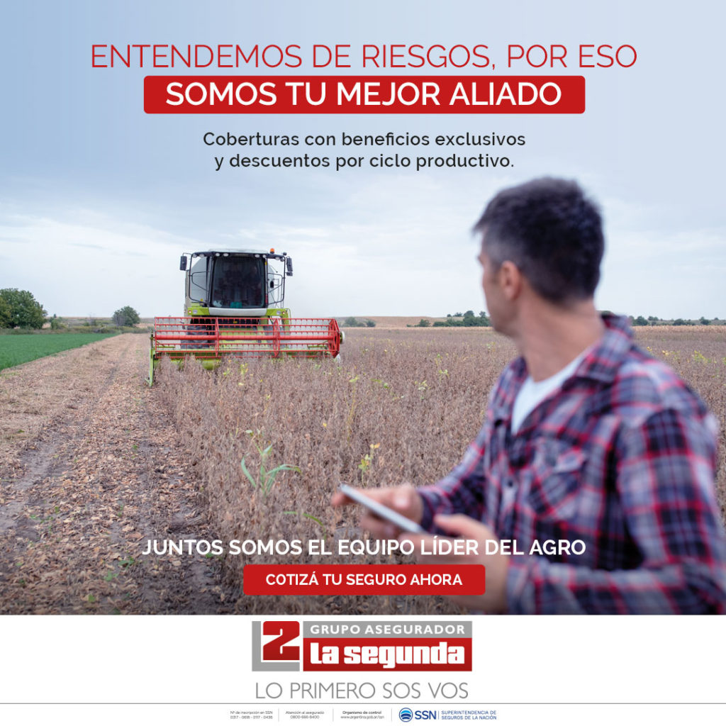 Con 5 millones de hectáreas aseguradas, La Segunda reafirma su liderazgo en el agro